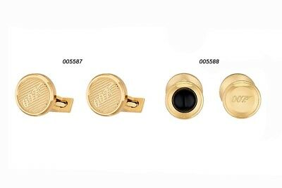 S.t. Dupont Cufflinks Gemelli Gold Oro Collection James Bond 007 005587 005588