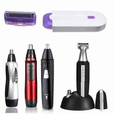 Professional Electric Nose Ear Face Hair Removal Trimmer Clipper Set Men Women