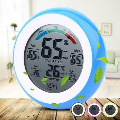 Digital Hygrometer Indoor Thermometer Temperature Humidity Monitor Gauge