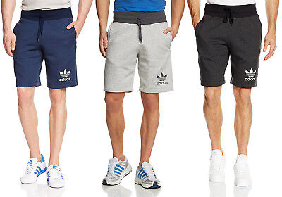 adidas Men's Essential Shorts Mens Track Bottoms Sweat Shorts Sports Regular Fit