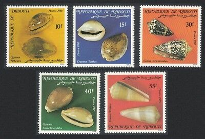 Djibouti Shells issue 1985 5v SG#959-963