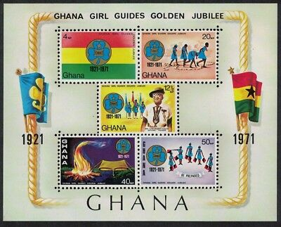 Ghana Golden Jubilee of Ghana Girl Guides MS SG#MS611