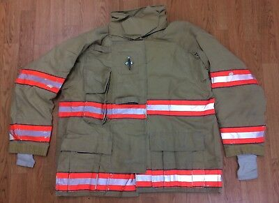 Cairns RS1 Firefighter Turnout/Bunker Coat 48 Chest x 32 Length 2005