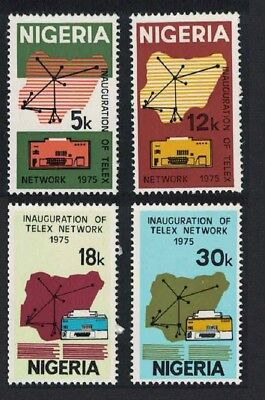 Nigeria Inauguration of Telex Network 4v SG#331-334