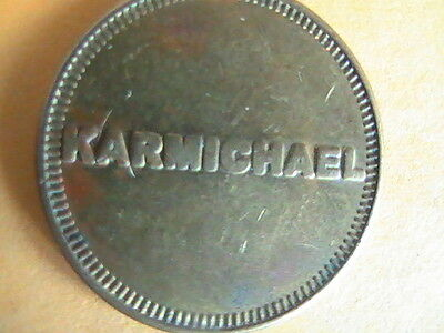 Token Karmichael Car Wash Token Not Refundable  No Cash Value