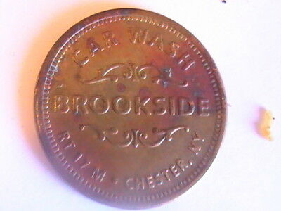 Token Brookside Car Wash Token Tr 17 M Chester Ny No Cash Value