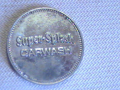 Token Super Splash Car Wash Automatic Carwash Token No Cash Value