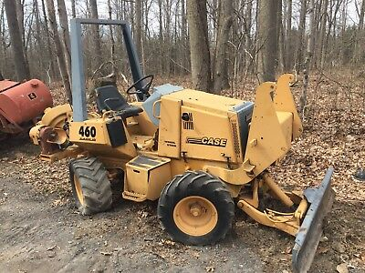 CASE 460 TRENCHER 4 Wheel Steer Drive Cable Digger Blade Vibratory Plow