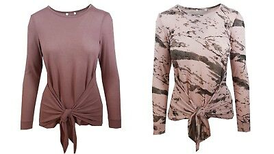 Ladies M/&S Collection Size 8 Soft Touch Scoop Neck Top T Shirt Bnwt Grey
