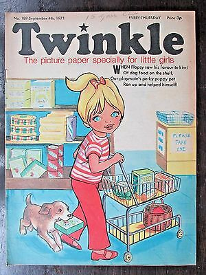 TWINKLE COMIC.  NO.189  SEPTEMBER 4th.  1971. THE PIPES OF PAM.