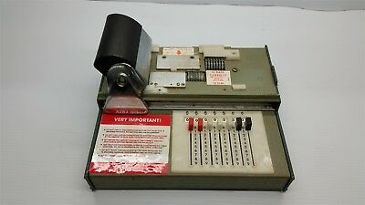 Vintage Sliding Credit Card Imprinter