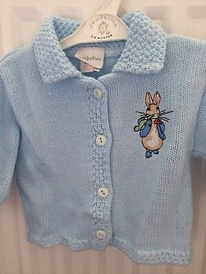 baby boys (peter Rabbit etc) cardigan bundle 3-6 months