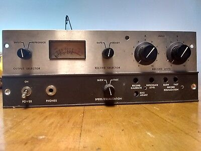 ampex microphone pre amp solid state