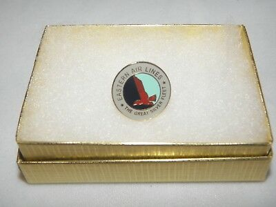 Eastern Airlines 1950's Vintage Logo Lapel Tack Pin Airplane Pilot Gift