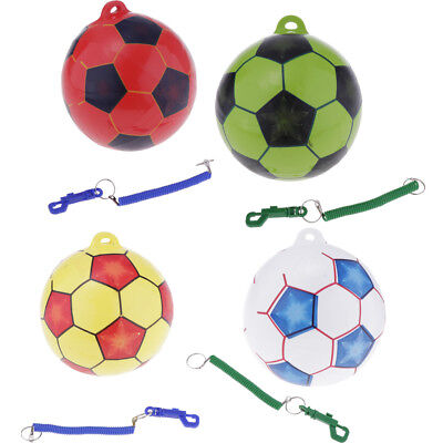 8.5'' Plastic Inflatable Football Soccer Kids Soccer Kick/ Throw Trainer