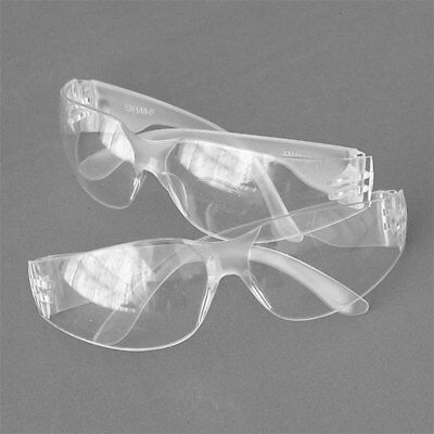 Plastic Anti Fog Glasses Goggles Clear Hiking Eyewears Vented Safety