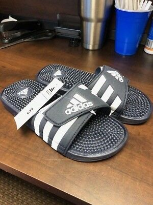 624ba718b8df8 adidas Adissage Slides - Men s Training SKU 078261 Size 5 Flip Flop Sandal