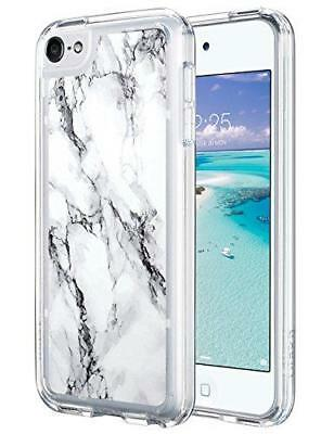 iPod Touch 6 Case,iPod 6 Case Marble,ULAK iPod Touch 6 CLEAR Case SLIM