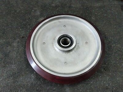 "10"" x 1.25"" Polyurethane on Aluminum Wheel for Casters Equipment Service Caster"