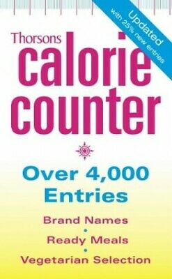 Thorsons Calorie Counter by Collins, Harper Paperback Book The Cheap Fast Free