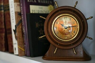 Vintage Seth Thomas Capstan Ship Clock