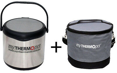 Red Blue Black 6L My Thermo Pot& Bag Set Thermal Mythermopot Caravan Slow Cooker