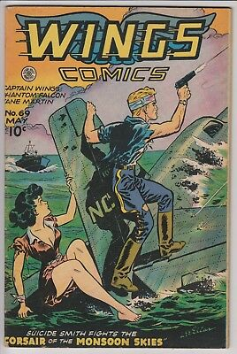 Wings Comics #69 F/VF