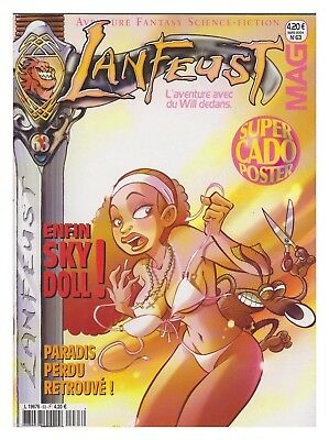 Lanfeust Mag N°   63  03/ 2004 Tbe  Comix + Poster