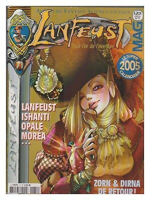 Lanfeust Mag N°   71  12/ 2004 Tbe  + Calendrier