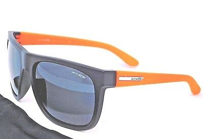 0969684895 Arnette Fire Drill Sunglasses AN4143-07 2055/87 Black & Orange with Grey  lenses