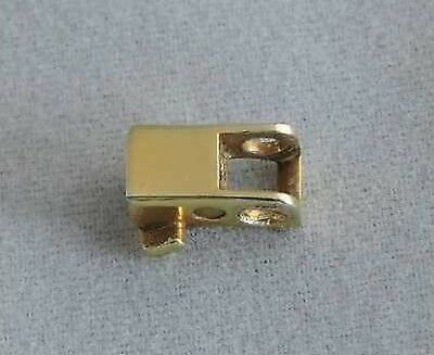 Dunhill Rollagas Lighter Flint Housing Gold Repair Part Fits Pre 90's