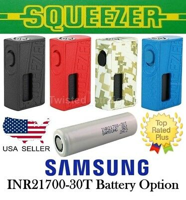 NEW Hugo Squeezer Mod Scratch Code & Samsung 30T Battery Option Same Day Ship!!!