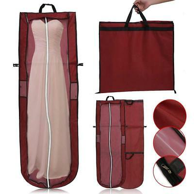 Large Wedding Dress Bridal Gown Garment Dustproof Breathable-Covers-Storage-Bags