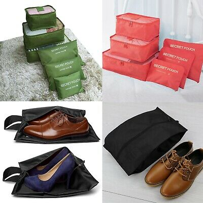 6 Pcs/Set Travel Organizer Packing Cubes Luggage Suitcase Bag Accessories Pouch