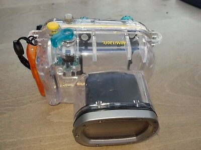 Canon WP-DC21 Waterproof Case For PowerShot G9 Scuba  snorkling underwater