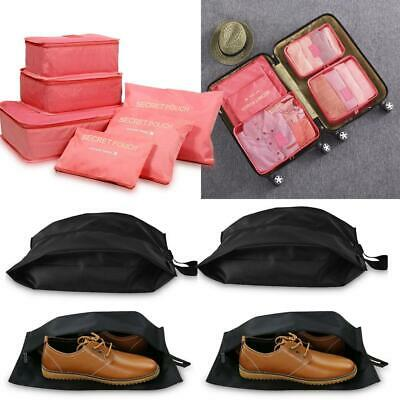 6PK Packing Cubes Travel Lightweight Luggage Organizers Compression Pouches Kit