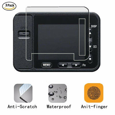 For Sony DSC-RX0 LCD Screen Protector Waterproof HD Anti-Scratch Film Cover 3Pcs