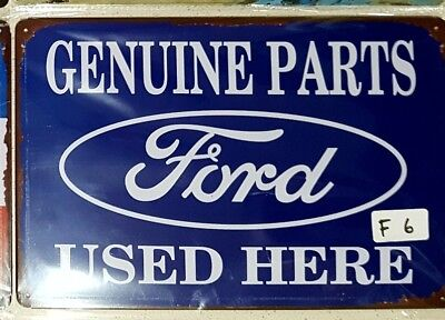 Ford Genuine Parts tin sign. Mancave Signs Aussie Seller