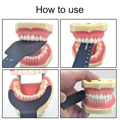 New Dental Photo Contrast Black Background Board Palatal Photography Contraster