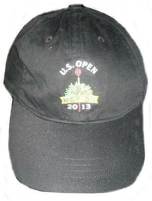 ralph lauren mens u.s. open merion 2013 golf baseball black cap rare hat new