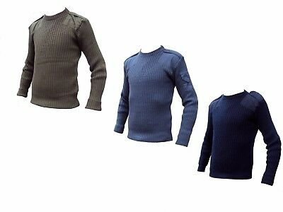 Military Jumpers ARMY + RAF + ROYAL NAVY Good Condition used