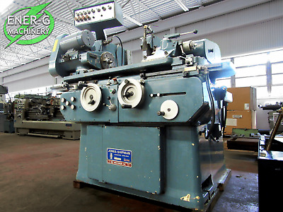 "Jones & Shipman 10"" x 18"" Universal Cylindrical Grinder Model 1074, ID# F-034"