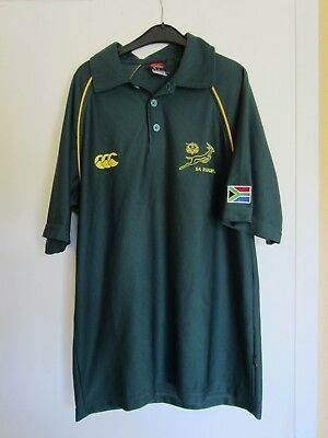 Canterbury South Africa Springboks 2007 Training Polo + Home Supporter Jersey