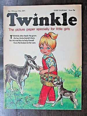TWINKLE COMIC.  NO.178  JUNE 19th.1971. DOROTHY AND THE WIZARD OF OZ.