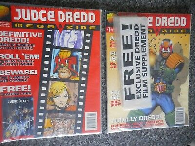 JUDGE DREDD THE MEGAZINE VOLUME 3  Nos.  1 and 2