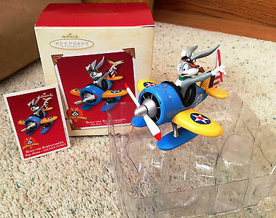 Bugs the Barnstormer ~ Bugs Bunny ~ Looney Tunes 2003 Hallmark Keepsake Ornament