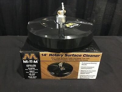 "New Mi-T-M 14"" Rotary Surface Cleaner AW-7020-8009,Surface Cleaner 4200-PSI"