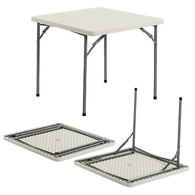 Folding Trestle Table, 2ft 10in - Portable Camping Party Garden Caravan Trestle