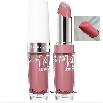 Maybelline Super Stay 14Hour Lipstick 180 Ultimate blush NEW- SEALED - FREE POST