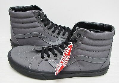 c47f58655b Vans SK8 Hi Reissue Black Outsole Pewter Black VN0A2XSBLVZ Men s Size  13